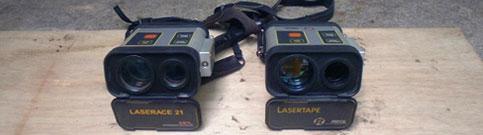 レーザー測距儀:2台