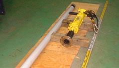 柱状採泥機器:3式