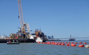 2015年 サンフランシスコ、大島深層水撤去、海象計メンテナンス
