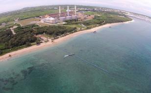 2014年 台湾澎湖島、浦賀水道航路、下田ケーブル布設