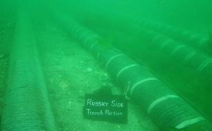 2011 / 5 ~7 ロシア ルースキー島 海底ケーブル布設工事