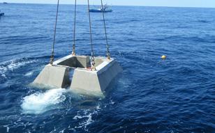2009 / 8 ~ 11 佐渡島海象観測機器設置作業