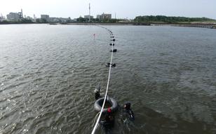 2019年 海象計メンテナンス、新潟港海象計設置、千葉灯標ケーブル布設