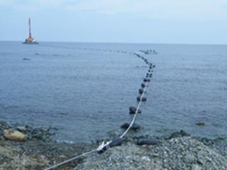海底ケーブル布設