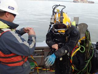 Equipment ヘリウム混合ガス潜水